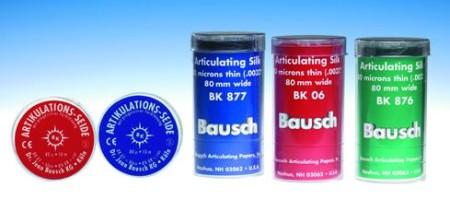 Специальный артикуляционный шёлк Бауша (Bausch)