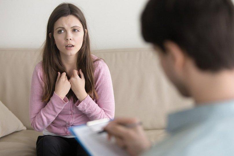 Обратиться к психотерапевту