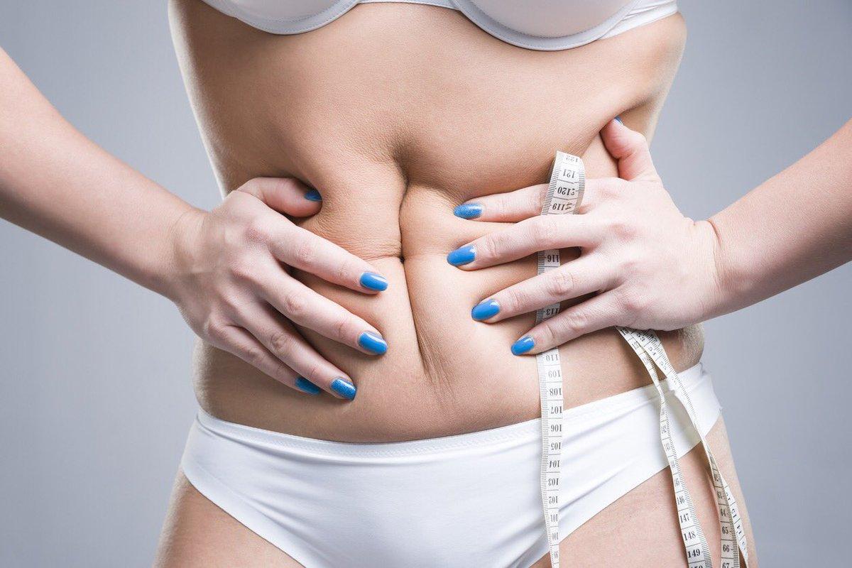 Восстановление кожи после диеты